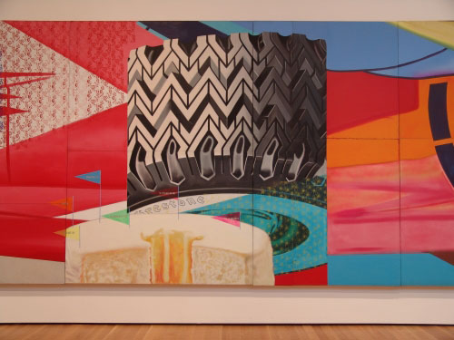 <i>F-111</i> (section), 1964-65. James Rosenquist