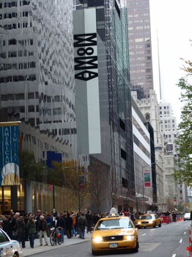MoMA, view from 53rd Street