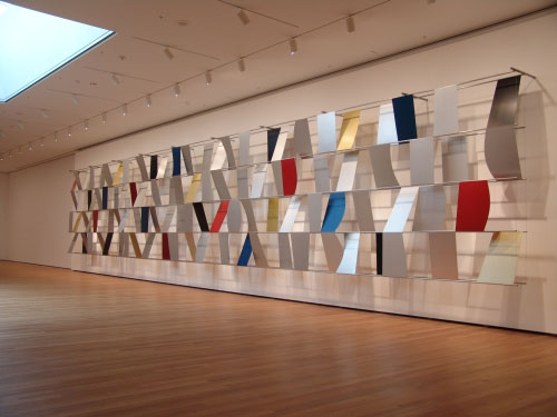 <i>Sculpture for a Large Wall</i>, 1957. Ellsworth Kelly