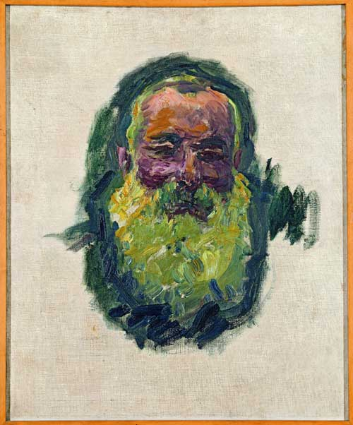 <p>Claude Monet. <em>Self portrait</em>, 1917. Oil on canvas, 70 x 55 cm. Musée d
