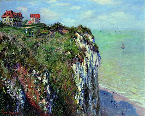 <p>Claude Monet. <em>La falaise à Dieppe,</em> 1882. Oil on canvas, 65 x 81 cm. Kunsthaus Zürich, Suisse. © Kunsthaus Zürich/All rights reserved