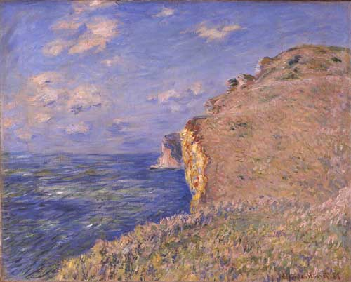 <i>The Cliffs at Fécamp</i>, 1881 © Aberdeen Art Gallery 