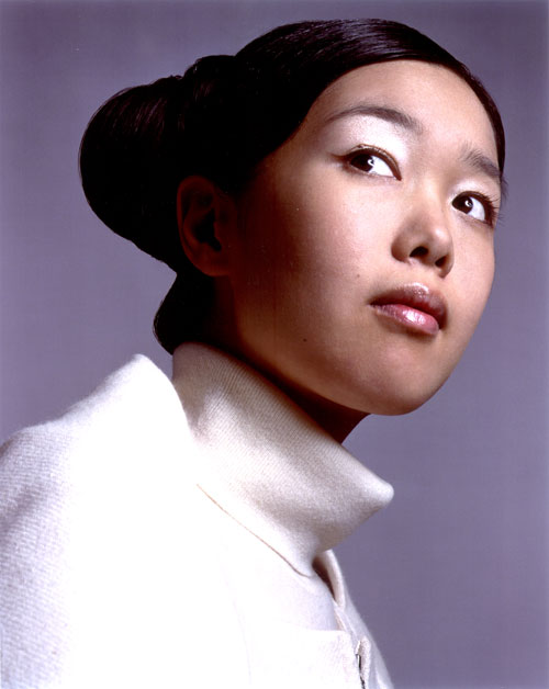 Portrait of Mariko Mori. Photograph: David Sims.