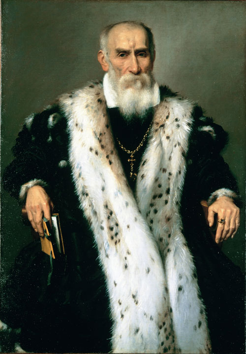 Giovanni Battista Moroni. Gian Girolamo Albani, c1570. Oil on canvas, 107 x 75 cm. Private Collection. Photograph: Private collection.
