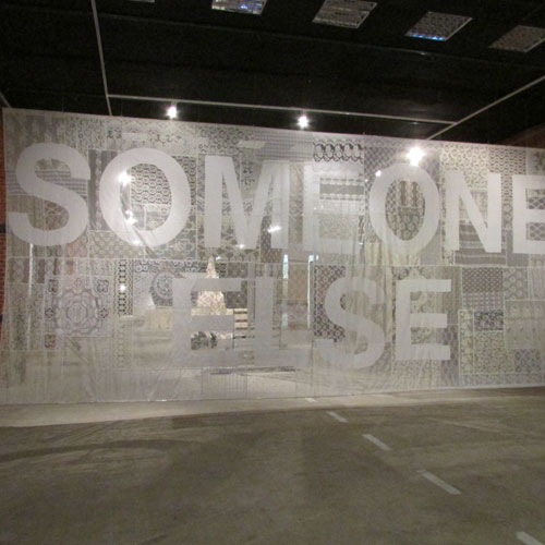 Sylvia Javén, Someone Else's Problem, 2014. Installation. Courtesy of the artist.