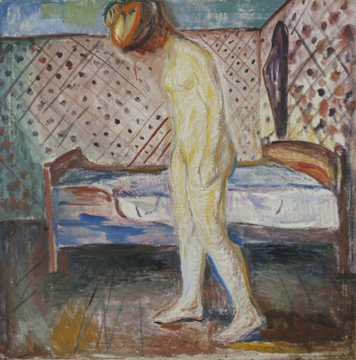 Edvard Munch. <em>Femme en pleurs,</em> 1907. Oil on canvas, 121 x 119 cm. © Munch Museum/Munch-Ellingsen Group/BONO 2011. © Adagp, Paris 2011.