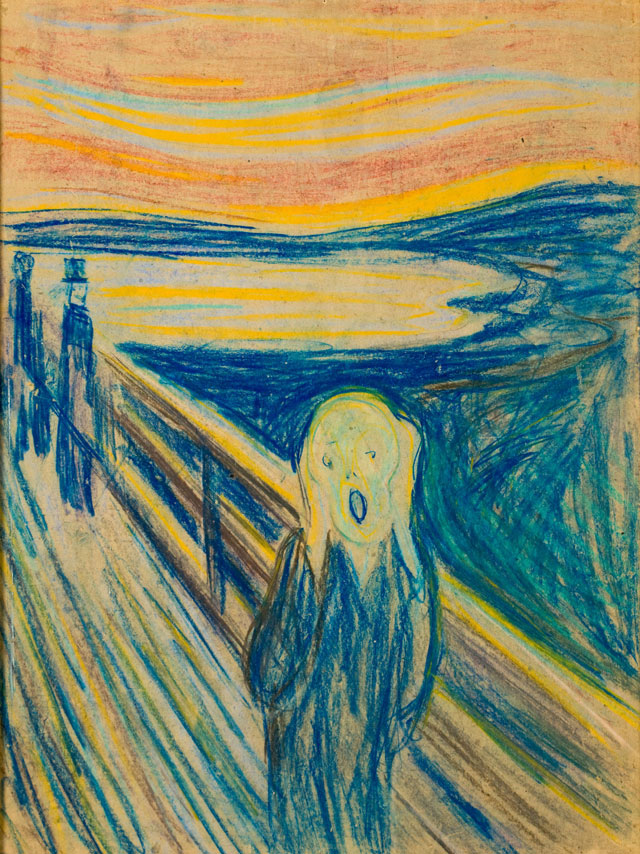 Edvard Munch. The Scream, 1893. Munch Museum, Oslo.