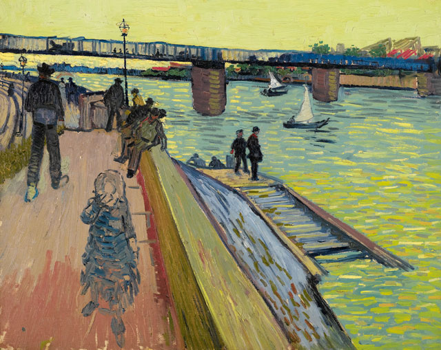 Vincent van Gogh. The Bridge at Trinquetaille, 1888. Private collection.