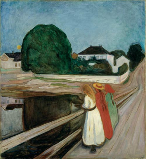 Edvard Munch. <em>Madonna</em>, 1894-95. Oil on canvas 36 5/8 x 29 1/8 in (93 x 74 cm). Collection of Steven A. Cohen (c) 2006 The Munch Museum/The Munch-Ellingsen Group/Artists Rights Society (ARS), New York.