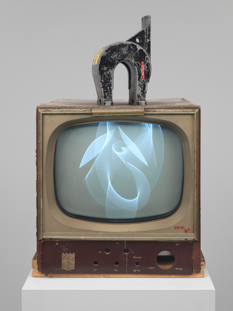 Nam June Paik. Magnet TV, 1965. Whitney Museum of American Art, New York. Purchased, with funds from Dieter Rosenkranz.