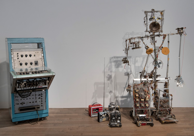 Nam June Paik at Tate Modern, 2019, Installation view. Photo: © Tate (Andrew Dunkley).