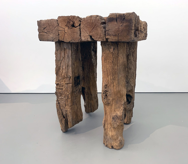 David Nash: 200 Seasons. Installation view, Towner Art Gallery, Eastbourne, 2019. Photo: Martin Kennedy.