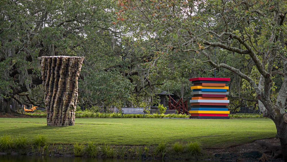 Devastated by Hurricane Katrina in 2005, the sculpture garden now has a spacious new extension and almost 30 additional works, including commissions from Teresita Fernández, Maya Lin and Elyn Zimmerman