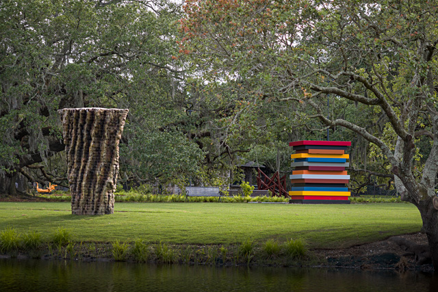 New Orleans Museum of Arts Sydney and Walda Besthoff Sculpture Garden, installation view. Photo: Richard Sexton.