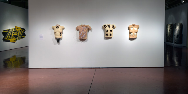 Installation view with Torsos from Untitled installation in Phyllis Kind Gallery, 1992. Photo: Peter Jacobs © 2019 Irina Nakhova.