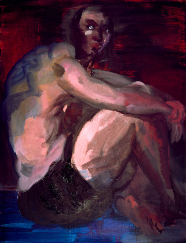 Rainer Fetting, Prophet at the Sea of Galilee, 2007. Oil on canvas, 210 x 160 cm. Photo: Kerstin Müller, Ute Oedekoven.