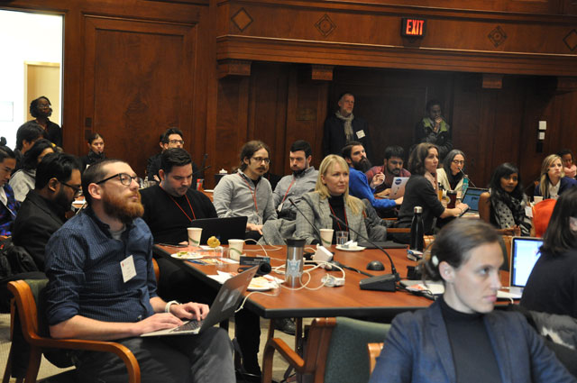 Student Fellows Symposium, National Academy of Sciences, Washington DC, 12 March 2018. Photograph: Ben Shneiderman.
