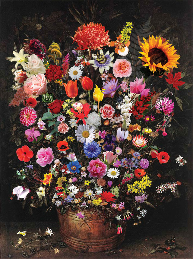 Maryam Najd. Grand Bouquet, 2010-12. Image courtesy Maryam Najd.