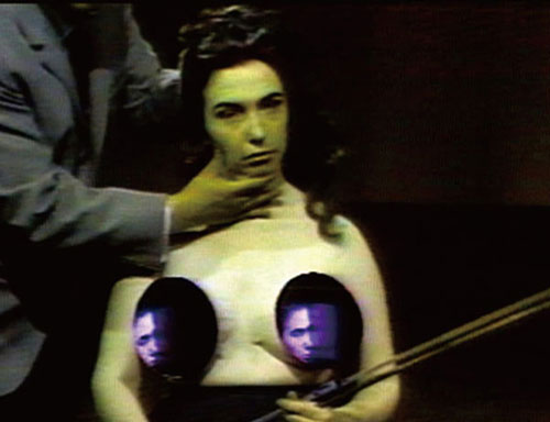 Nam June Paik. Opera Sextronique 1967. Video, colour, silent. Photograph: Nam June Paik Art Center © Nam June Paik Estate.