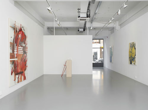 Elizabeth Neel: The People, The Park, The Ornament. Installation view (1). Courtesy Pilar Corrias.