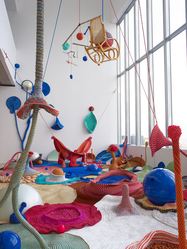 Maria Nepomuceno, Tempo para Respair (Breathing Time), 14 September 2012 – 17 March 2013, Turner Contemporary, Margate.