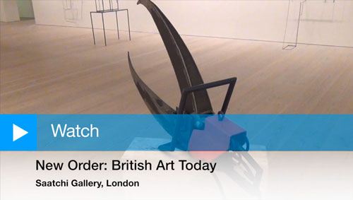 New Order: British Art Today at the Saatchi Gallery, London.