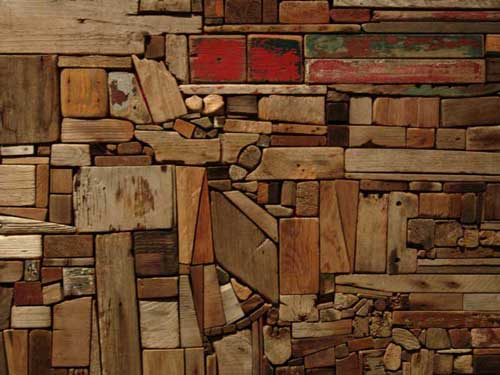 Work by George Morrison (Grand Portage Band of Chippewa, 1919-2000), 
