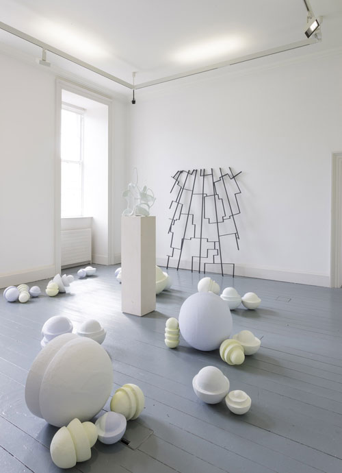 Isabel Nolan. The Weakened Eye of Day, Irish Museum of Modern Art, Dublin. Installation view (6). Photograph © Denis Mortell.