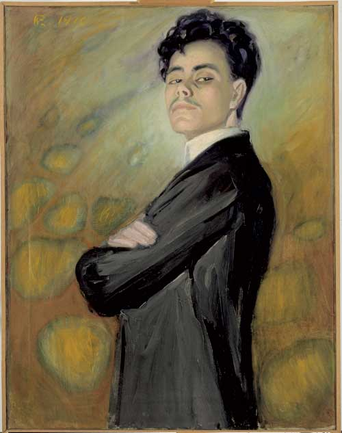 Valle Rosenberg, <i>Self-portrait</i>, 1910. Ateneum Art Museum
