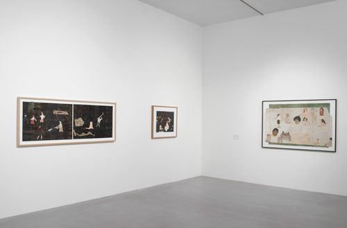 Jockum Nordström. Installation view. © The artist. Courtesy, Camden Arts Centre, London. Photograph: Andy Keate.