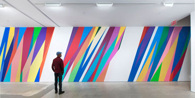 Odili Donald Odita: 'I want to use colour to have an effect on the mind and body'