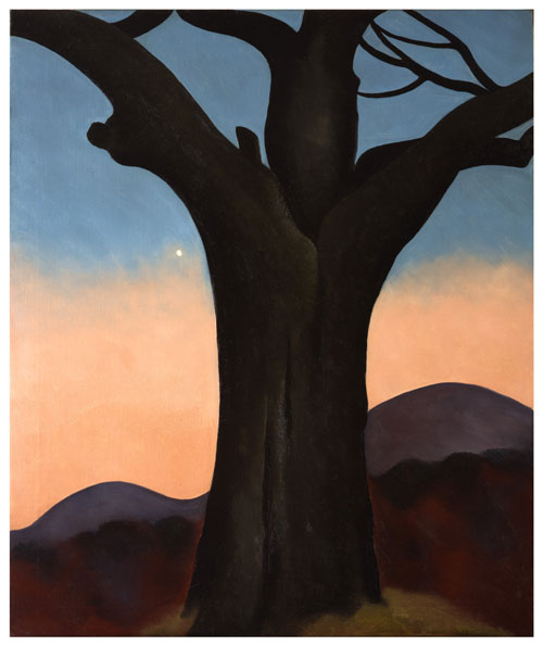 Georgia O'Keeffe, American (1887-1986). The Chestnut Grey, 1924. Oil on canvas, 36 x 30 1/8 in. Curtis Galleries, Minneapolis, Minnesota. © Georgia O'Keeffe Museum/Artists Rights Society (ARS), New York.