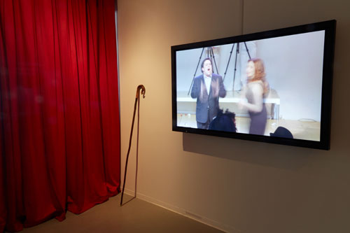 Jeanine Oleson: Hear, Here. Installation view (1), New Museum, 2014. Courtesy New Museum, New York. Photograph: Jesse Untracht-Oakner.