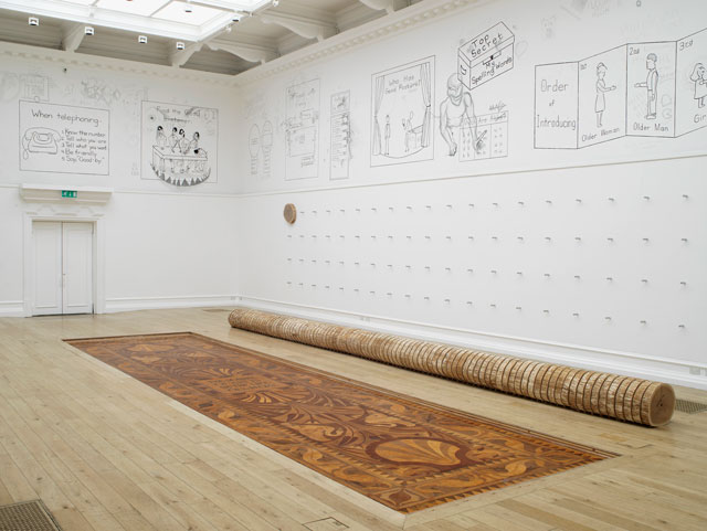 Roman Ondak, The Source of Art is in the Life of a People, installation view at the South London Gallery, 2016. Courtesy the artist, kurimanzutto. Photograph: Andy Keate.