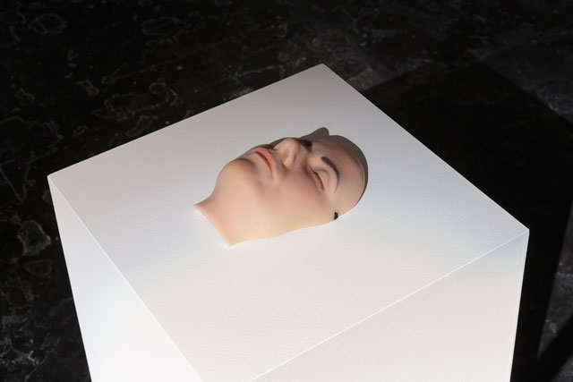 Gillian Wearing. Sleeping Mask, 2004. Wax, paint. Photograph: Tim Bowditch.