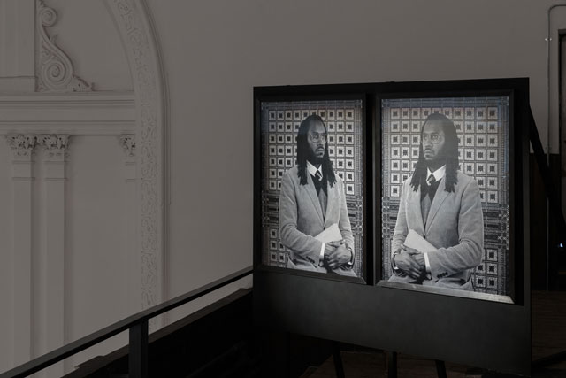 Rashid Johnson. Self Portrait as The Professor of