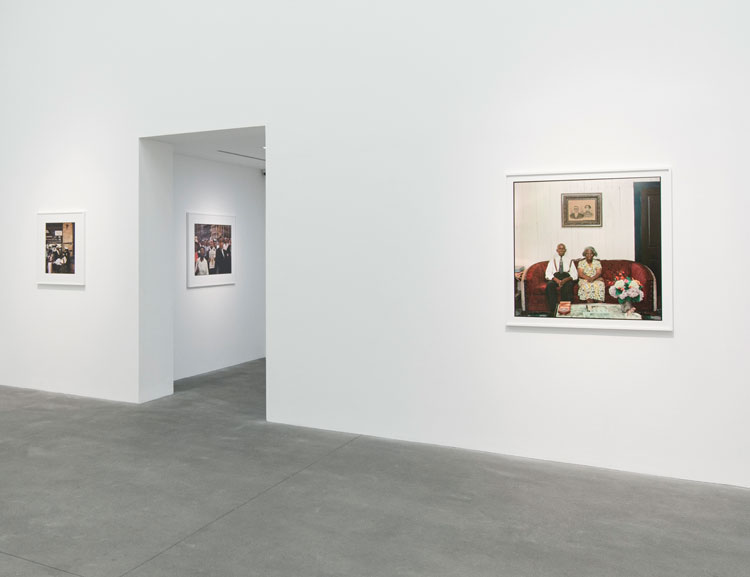 Installation view, Gordon Parks: Part One. Photo courtesy Alison Jacques Gallery, London.