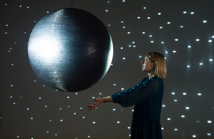 Katie Paterson, Totality, 2016. Installation view Scottish National