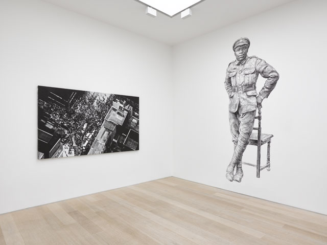 Protest and Remembrance: Miriam de Búrca | Joy Gerrard | Mary Griffiths | Barbara Walker, installation view, Alan Cristea Gallery, London, 2019. Photo courtesy Alan Cristea Gallery.