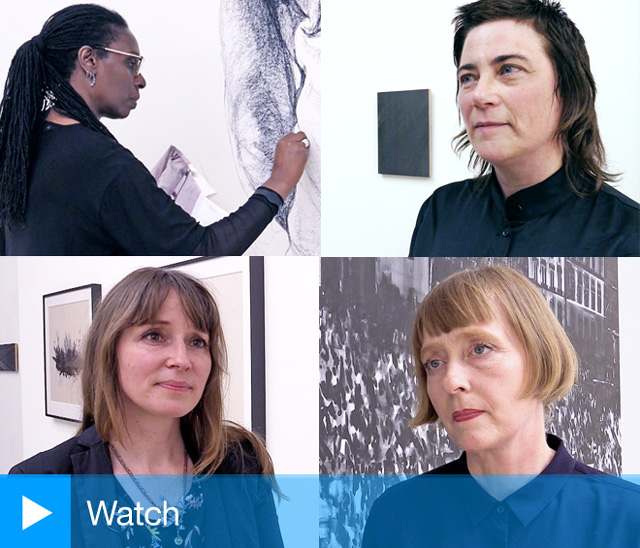 Studio International spoke to Miriam de Búrca, Joy Gerrard, Mary Griffiths and Barbara Walker ahead of the opening of the exhibition Protest and Remembrance at Alan Cristea Gallery, London, 2019. Photos: Martin Kennedy.