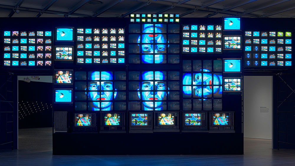 From Nam June Paik's 1960s experiments to alter images on a TV screen to Ian Cheng's use of chatbots and Jonah Brucker-Cohen and Katherine Moriwaki's comments on celebrity-making through software that tracks Twitter feeds for reality TV shows, this exhibition spans 50 years of programmed works