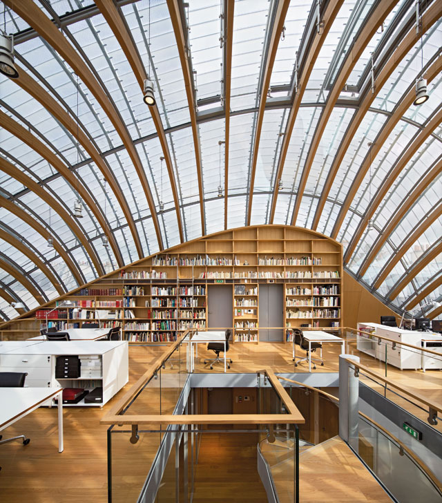 Renzo Piano Building Workshop, Jérôme Seydoux Pathé Foundation, Paris, 2014. Photo © Michel Denancé. © RPBW.