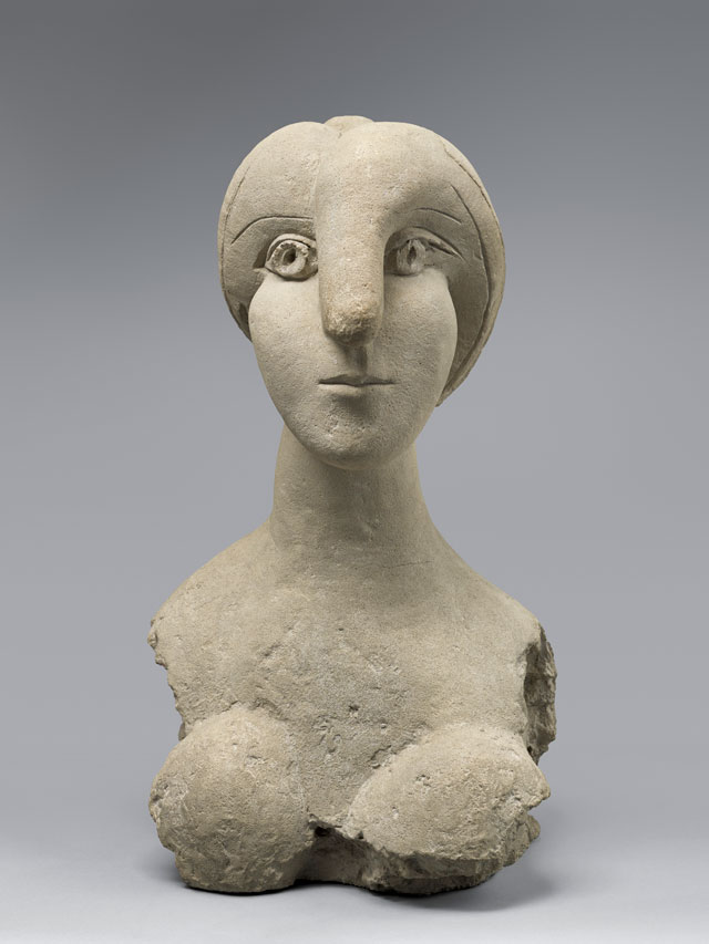Pablo Picasso. Bust of a Woman (Buste de femme), 1931. Cement, 78 x 44.5 x 50 cm. Musée National Picasso. © Succession Picasso/DACS London, 2017.
