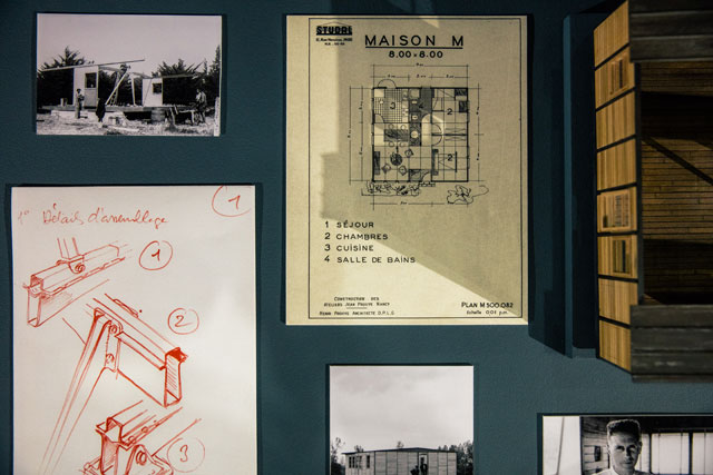 Accompanying drawings and plans. Photograph: Victor Picon.