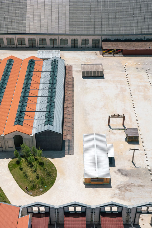 Luma Campus, aerial view. Photograph: Victor Picon.