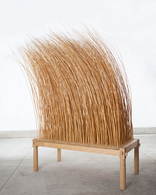 Martin Puryear. Night Watch, 2011. Maple, willow, OSB board, 295 x 310 x 122 cm (116 x 122 x 48 in). Glenstone Museum, Potomac, MD. Photograph: Christian David Erroi. © Martin Puryear, courtesy Matthew Marks Gallery.
