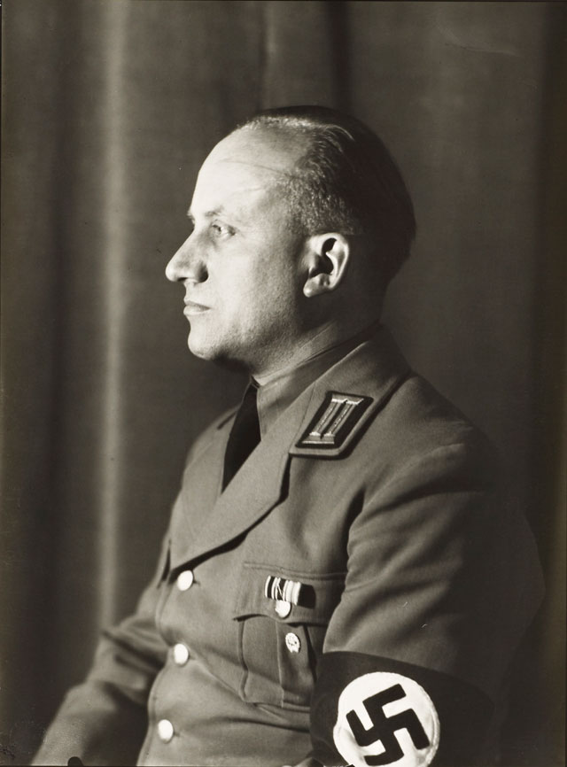 August Sander. National Socialist, Head of Department of Culture c1938, printed 1990. Photograph, gelatin silver print on paper, 26 x 19.2 cm. © Die Photographische Sammlung/SK Stiftung Kultur - August Sander Archiv, Cologne; DACS, London, 2017.