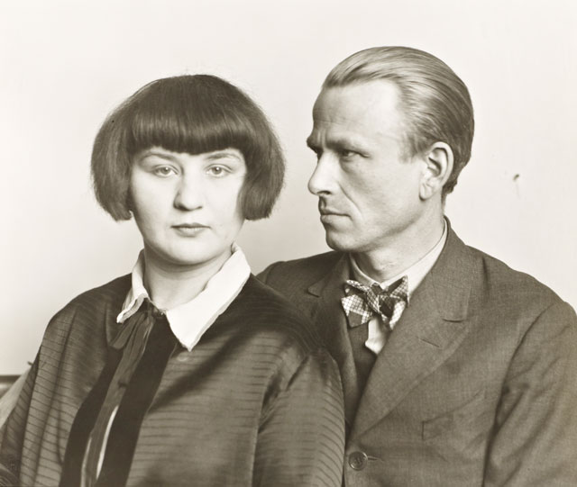 August Sander. The Painter Otto Dix and his Wife Martha 1925-6, printed 1991. Photograph, gelatin silver print on paper, 20.5 x 24.1 cm. © Die Photographische Sammlung/SK Stiftung Kultur - August Sander Archiv, Cologne; DACS, London, 2017.