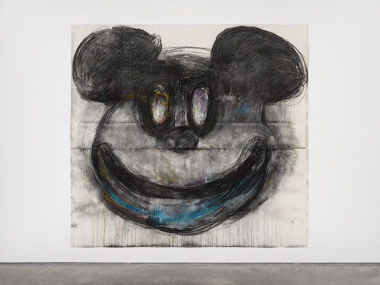 Joyce Pensato. Big Mickey, 2017. © Joyce Pensato; Courtesy Lisson Gallery.