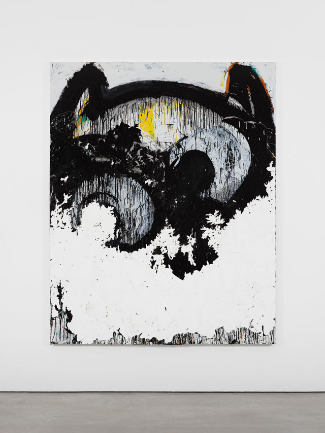 Joyce Pensato. The Erased Batman, 2017. © Joyce Pensato; Courtesy Lisson Gallery.